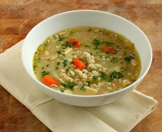 Chicken, Vegetable & Barley Soup