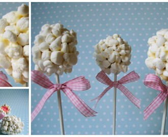 Marshmallow-Vanille-Pops (Tchibo Cake-Pop-Maker im Test)