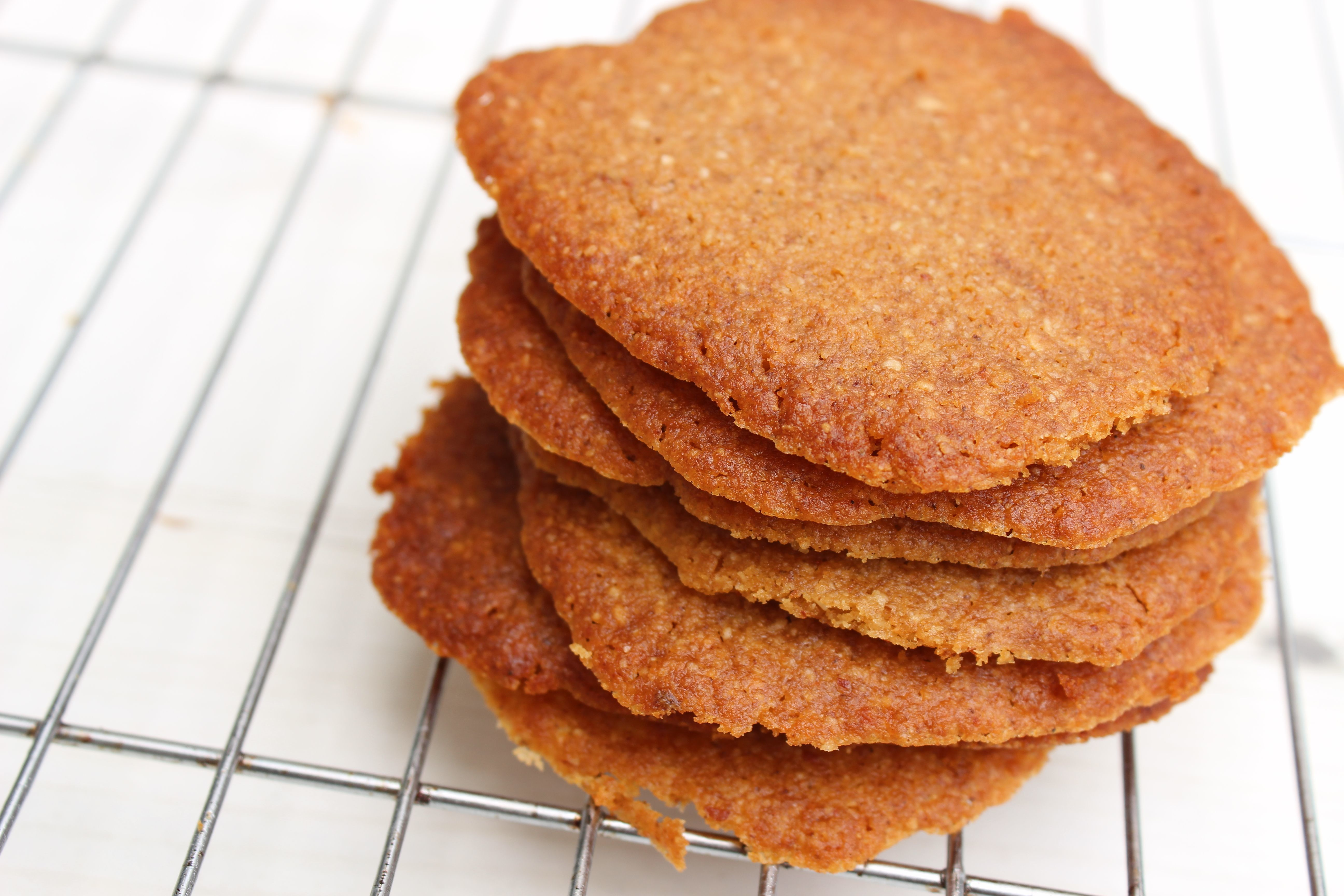 Ginger Biscuits (Gluten, Dairy, Egg, Grain & Refined Sugar-free)