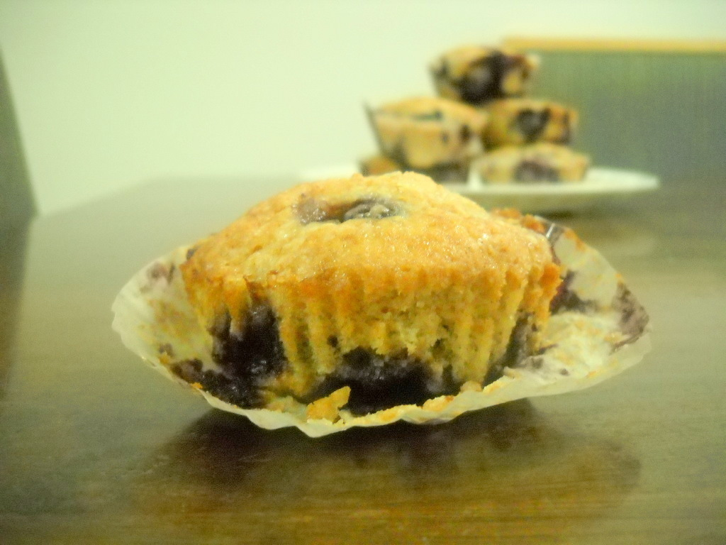Comfort Foods: Blueberry Muffin