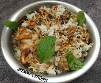 Chicken  dum biriyani recipe for bachelors / Easy  kerala chicken dum biriyani / Bachelors biriyani