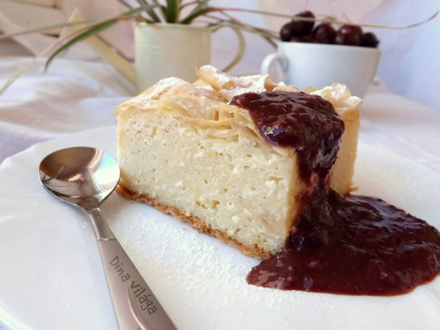 Vargabéles / Hungarian Cottage Cheese Cake