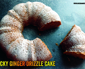 Sticky Ginger Drizzle Cake : RECIPE