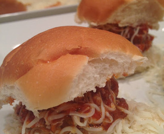 Meatball Sliders, Heading Your Way!