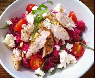 Love Bites Beetroot Quinoa and Feta Salad
