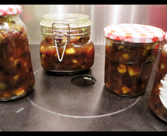 Christmas baking: ginger mincemeat