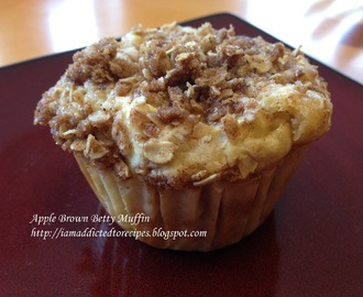 Apple Brown Betty Muffins