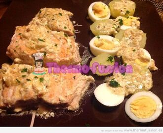 SALMON A LAS FINAS HIERBAS FUSSIONCOOK TOUCH ADVANCE