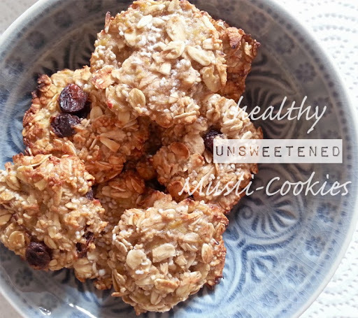 Müsli-Cookies (vegan & sugarfree)