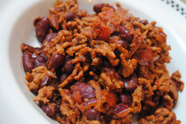 Easy Chilli Con Carne recipe for students