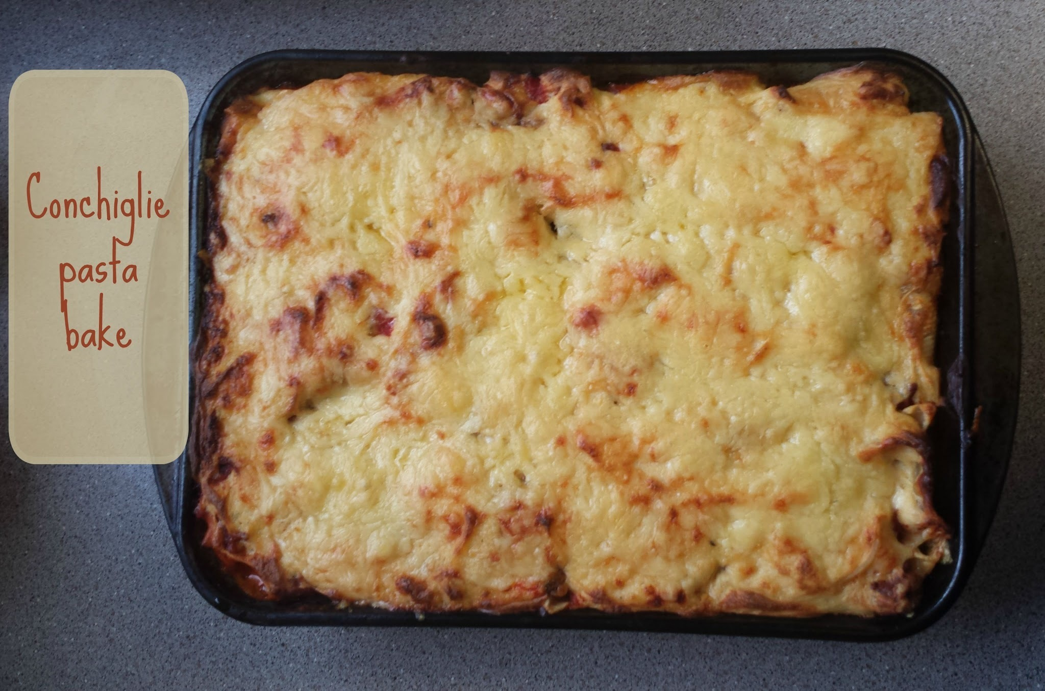 Recipe - Conchiglie pasta bake (#SlimmingWorld friendly)