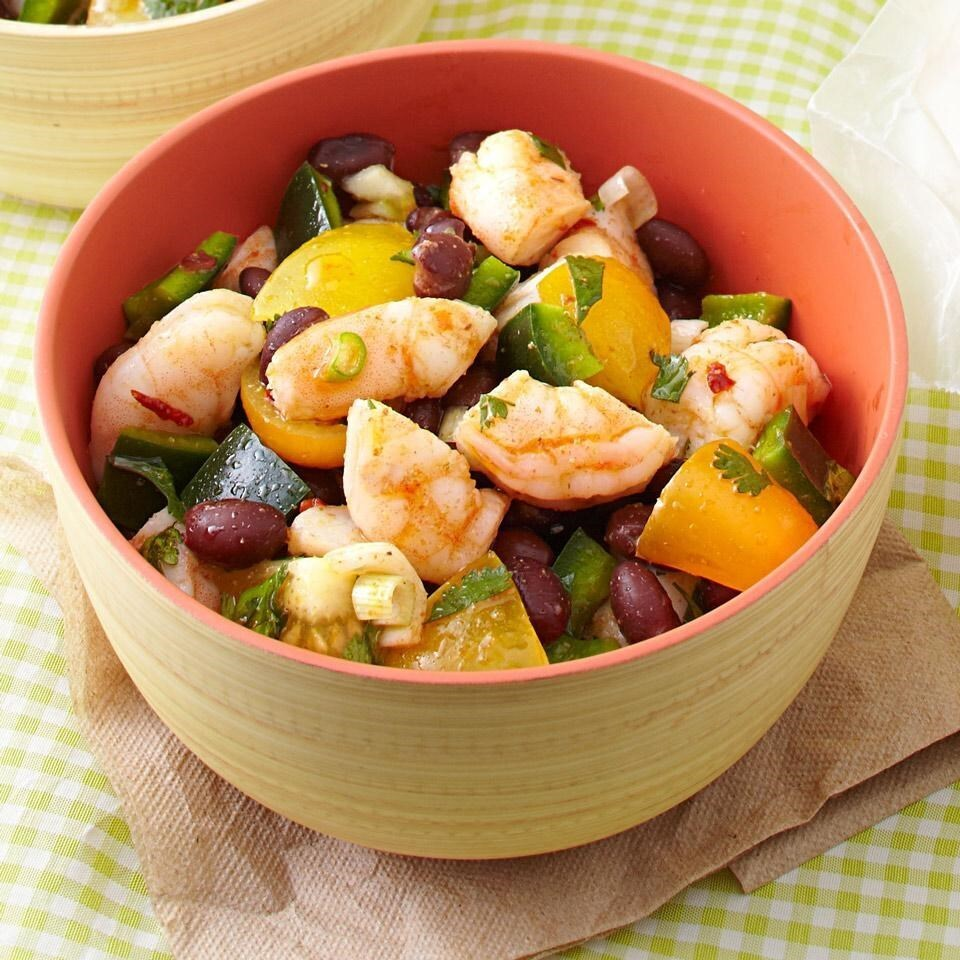 Zesty Shrimp & Black Bean Salad Recipe