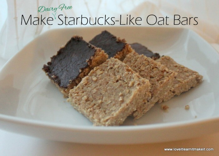Gluten and Dairy Free Oat Bars [Starbucks Copycat]