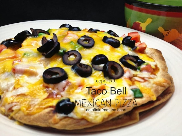 Copy Cat Taco Bell Mexican Pizza