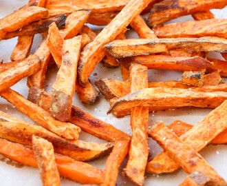 Smokey Sweet Potato Oven Fries