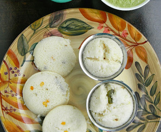 KANCHIPURAM IDLY / KUDALAI IDLY - SOUTH INDIAN BREAKFAST RECIPE