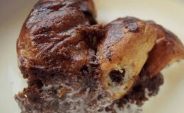 Chocolate orange bread & butter pudding!!!