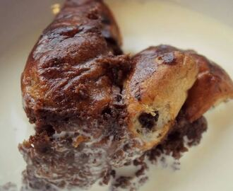 Chocolate Orange Bread & Butter Pudding Recipe