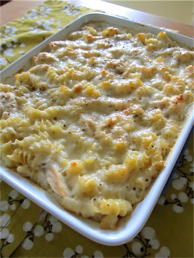 Baked Cheesy Chicken Pasta