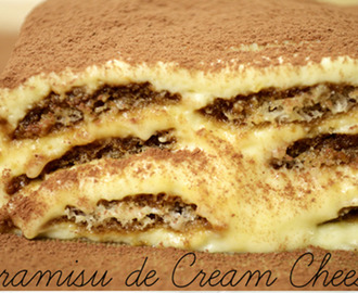 Tiramisu de Cream Cheese da Isamara