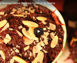 Beetroot Halwa Recipe Video