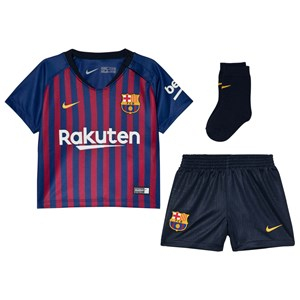 Barcelona FC Breathe FC Barcelona Home Barn Set Blå 9-12 months