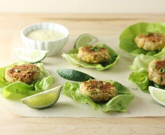 Classic Crab Cakes with Spicy Lime Mayo