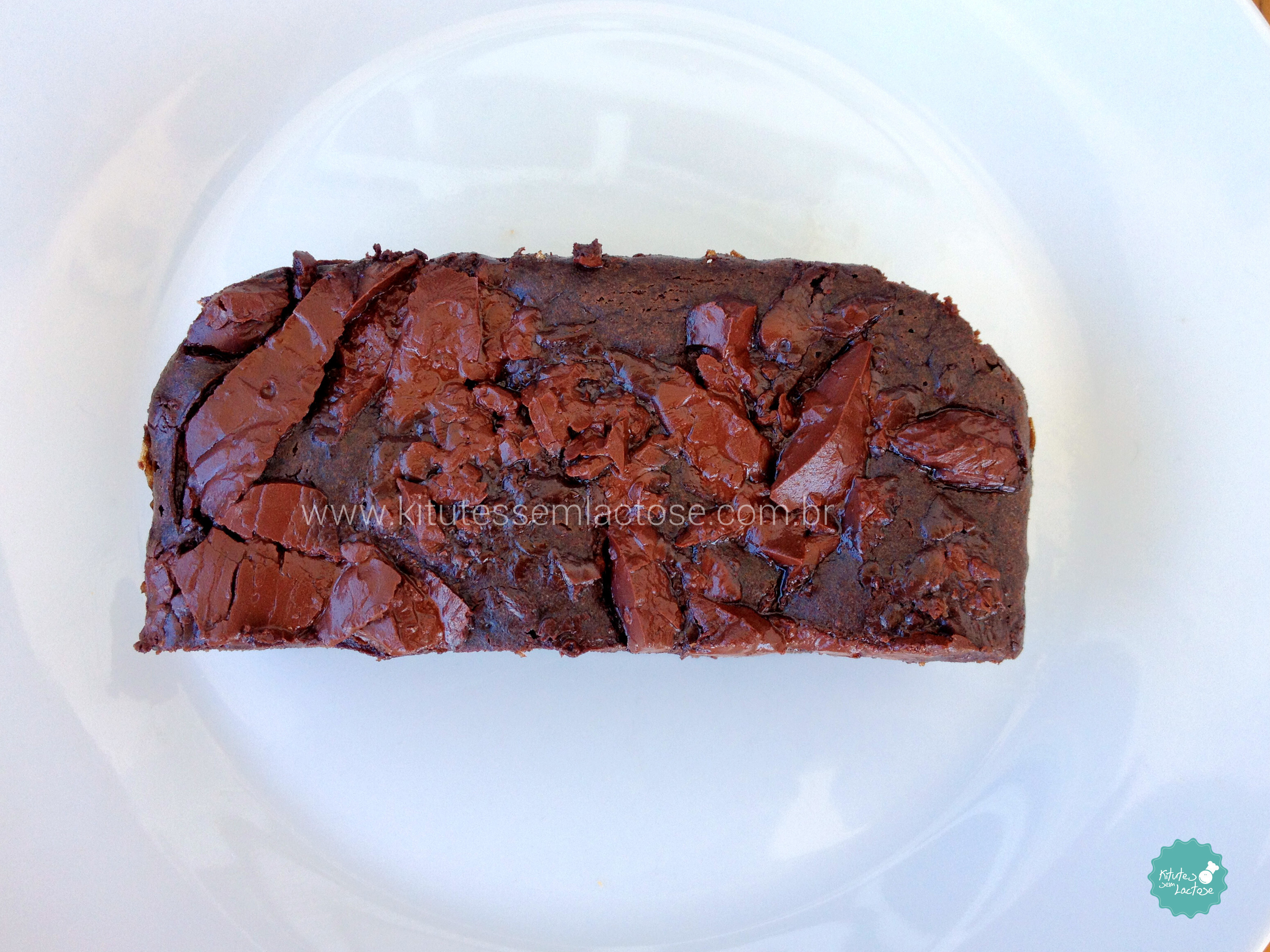 "Brownie low carb ""sem farinhas"" (Cassia)"