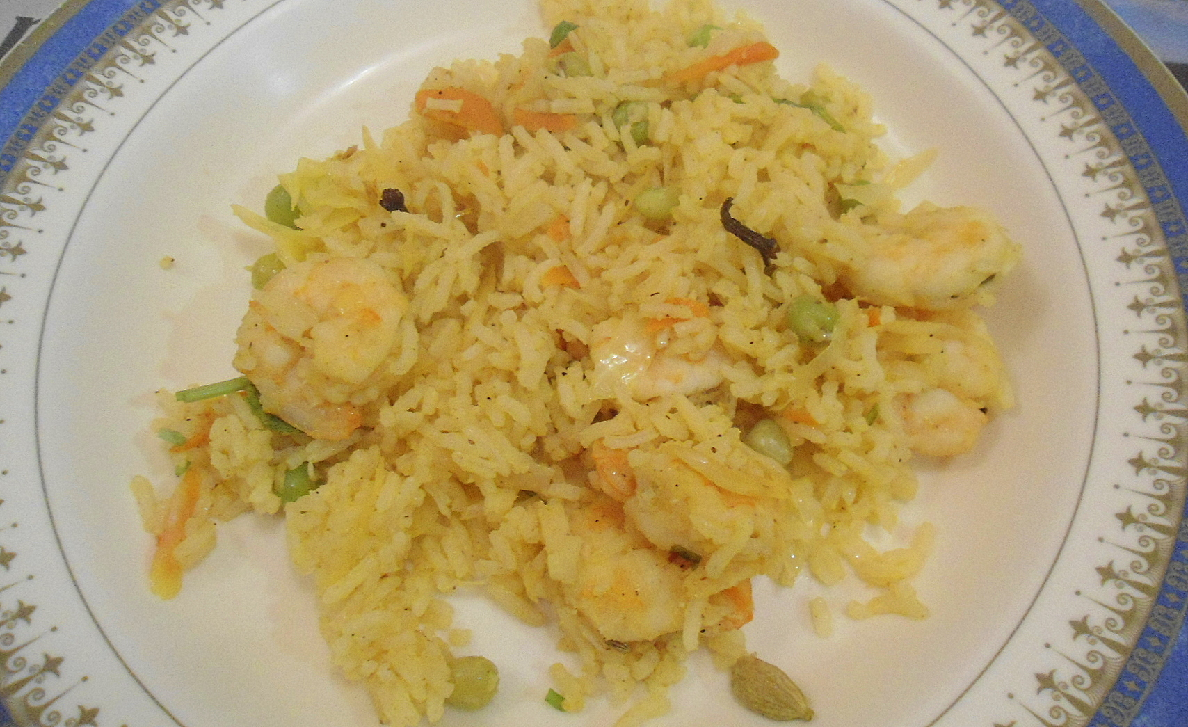 Prawn Vegetable Fried Rice | Easy One Pot Meal