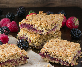 Summer Fruits Flapjacks