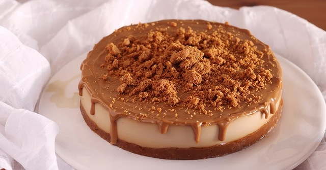 Lotus cheesecake (tarta de queso de galletas speculoos)
