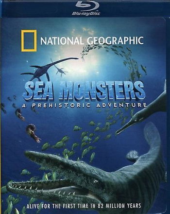 National Geographic - Sea Monster [BLU-RAY] USA import