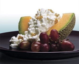 Melon Cottage Cheese Salad