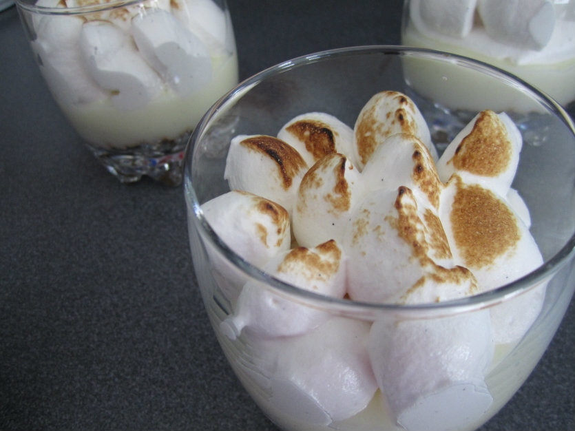 Lemon Meringue Pie - In a glass!