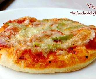 Veg Pizza Recipe | How to Make Veg Pizza