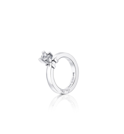 Dolce Vita Princess Ring Vitguld 0,40 ct - 19,25 - 19,25