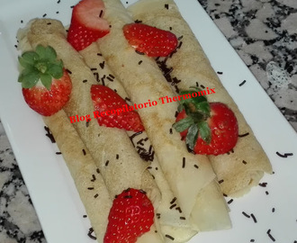 Filloas o crepes en thermomix