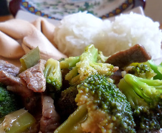 SRC~Beef and Broccoli Stir Fry