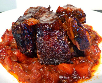 Beef Short Ribs Braised  in Red Wine