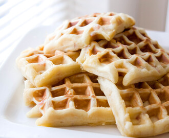 Recept: Wafels