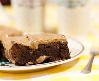 Recept: Nutella brownies met cookie dough