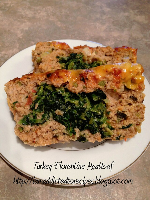 Turkey Florentine Meatloaf
