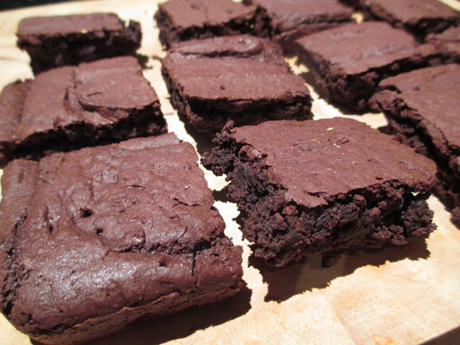 Heavenly Chocolate & Peanut Butter Fudge Brownies