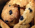 Blueberry crunch cookies