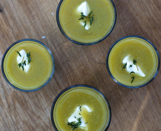 French Fridays with Dorie: Asparagus soup