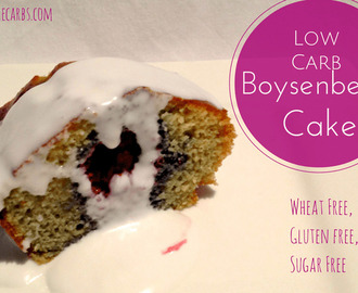 Wheat Free Boysenberry Cake