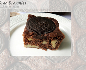 Quick Oreo Brownies
