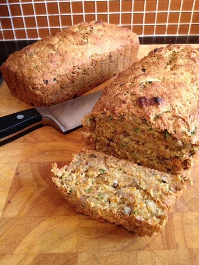 Meatless Monday – Carrot Banana Zucchini Loaf