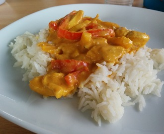 Mango kip curry