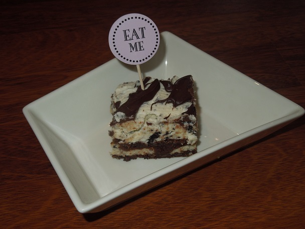 Lukijan toive: oreo white chocolate brownies